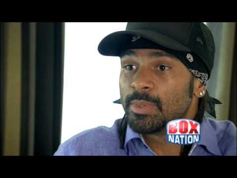 David Haye Exclusive Weigh-In Interview ( Box Nation)