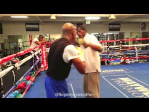 Floyd Mayweather Training with Roger Mayweather
