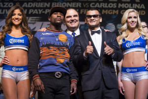 Mayweather and Maidana