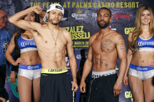 Jhonny Gonzalez and Gary Russell Jr