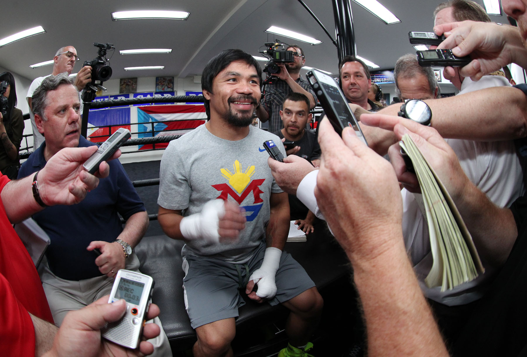 Manny Pacquiao returns. But, who really even knows ...