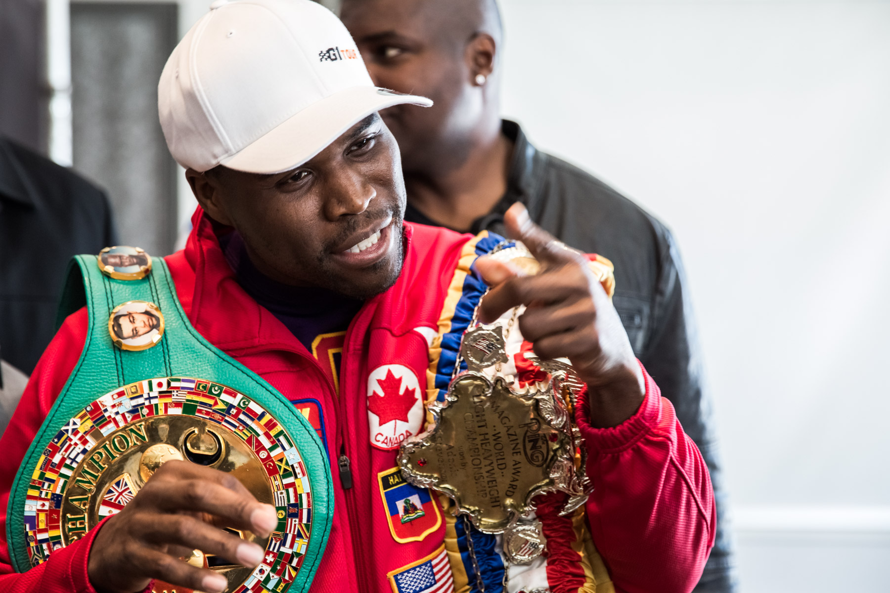 Stevenson Adonis born 22 September 1977 best known as Adonis Stevenson is a Haitian Canadian professional boxer He has held the WBC and lineal lightheavyweight