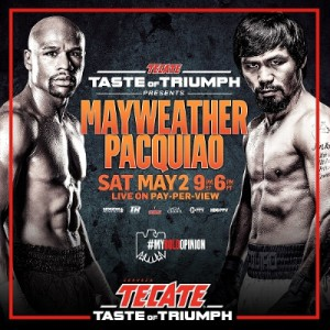 Press Release: Tecate Becomes Official Beer Sponsor of Mayweather ...