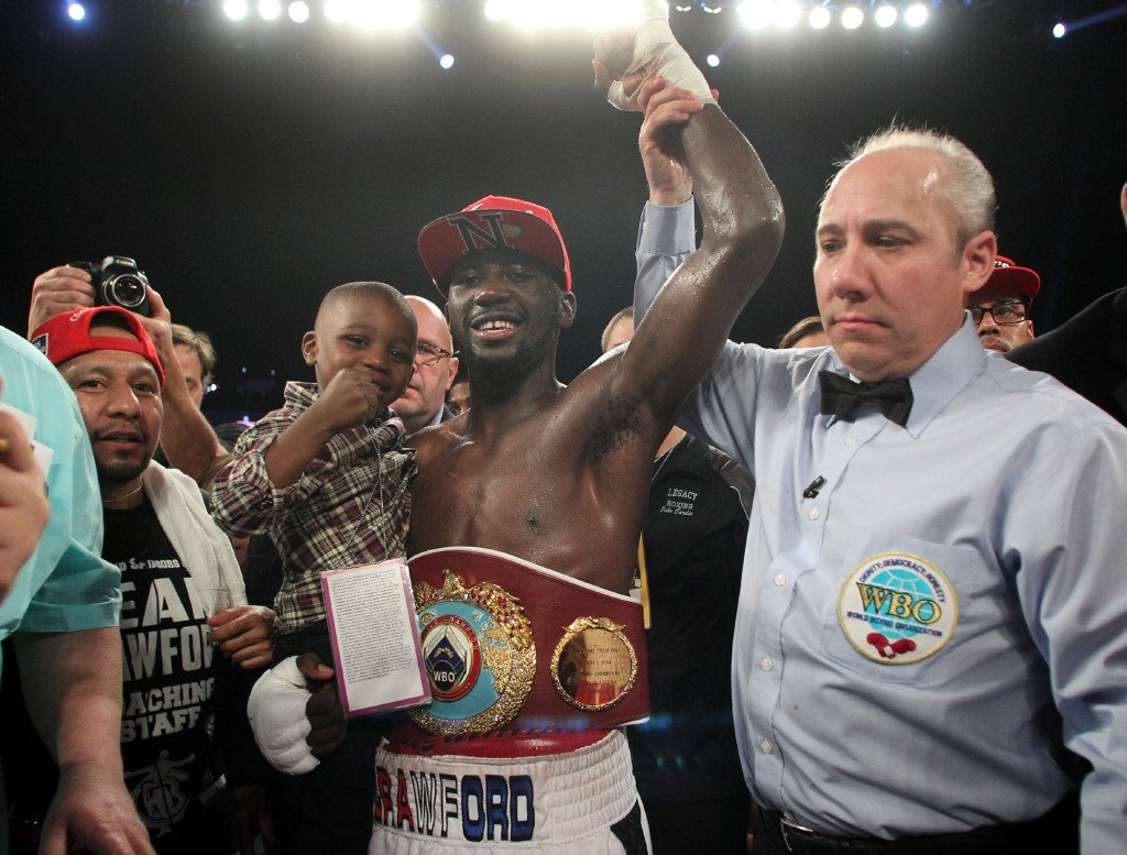 """Crawford Beltran 141129 005a 1024x777 - Terence Crawford: """"I know for A Fact If I Retire, I'm Gonna Be In The Hall Of Fame"""""""