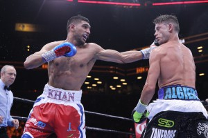 Amir Khan Defeats Algieri