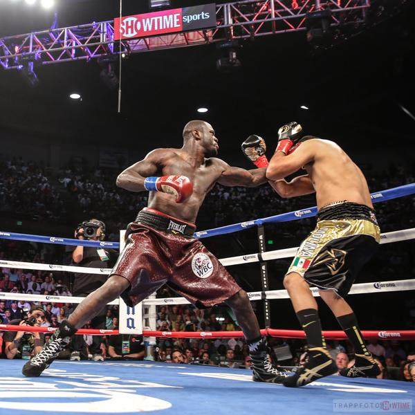 Showtime Boxing Results: Deontay Wilder TKOs Eric Molina