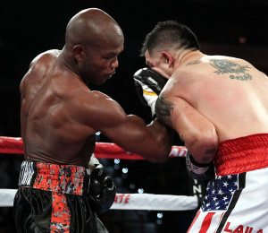 "Nov 7, 2015, Las Vegas,Nevada   ---  WBO Welterweight Champion  Timothy ""Desert Storm"" Bradley Jr. vs  former world champion Brandon Rios , Saturday, Nov. 7, at the Thomas & Mack Center in Las Vegas on HBO.  --- Photo Credit : Chris Farina - Top Rank (no other credit allowed) copyright 2015"