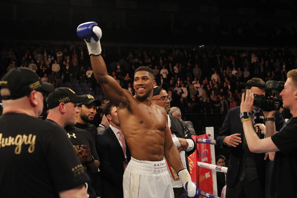 AJ - Anthony Joshua Close to Fighting Jarrell Miller as Dillian Whyte Talks Die