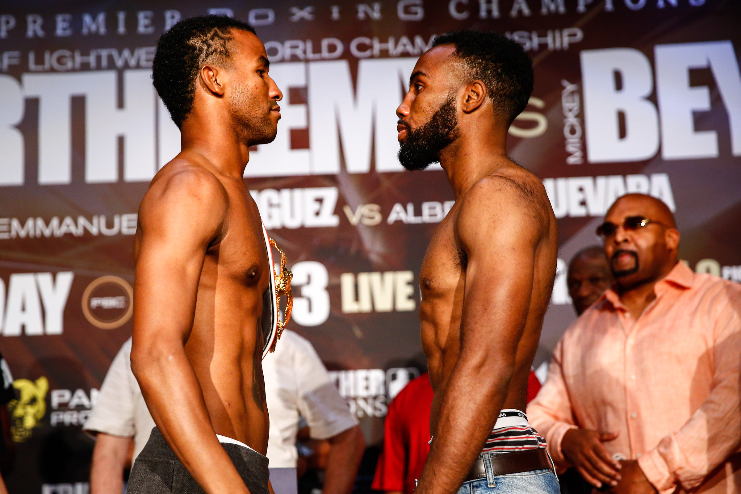 Weigh In_Presser_Stephanie Trapp  _ Mayweather Promotions _ Premier Boxing Champions