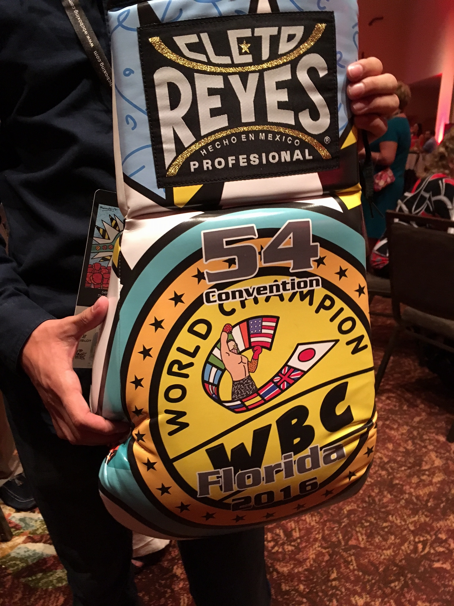 """aaa844a4 The party was also attended by former WBC champions Ronald """"Winky"""" Wright  and Evander Holyfield."""