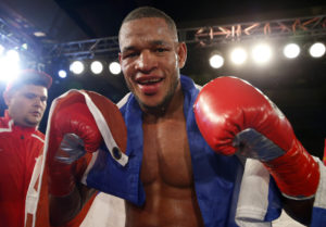 Sullivam Barrera vs Karo Murat          (Rd 5) 12 Rds Light Heavyweights IBF Title Eliminator  referee: Wayne Hedgpeth In an IBF light heavyweight eliminator, undefeated Sullivan Barrera (17-0, 12 KOs) scored a fifth round TKO over Karo Murat (27-3-1, 17 KOs) on Saturday night at the Glendale Civic Auditorium in Glendale, California. Barrera dropped Murat at the end of round four, and got the TKO in round five with a barrage of punches. Time was :25. Murat complained to referee Wayne Hedgpeth about a quick stoppage. Barrera is now mandatory IBF challenger for Main Events stablemate Sergey Kovalev, who was at ringside watching. Photo credit: WILL HART
