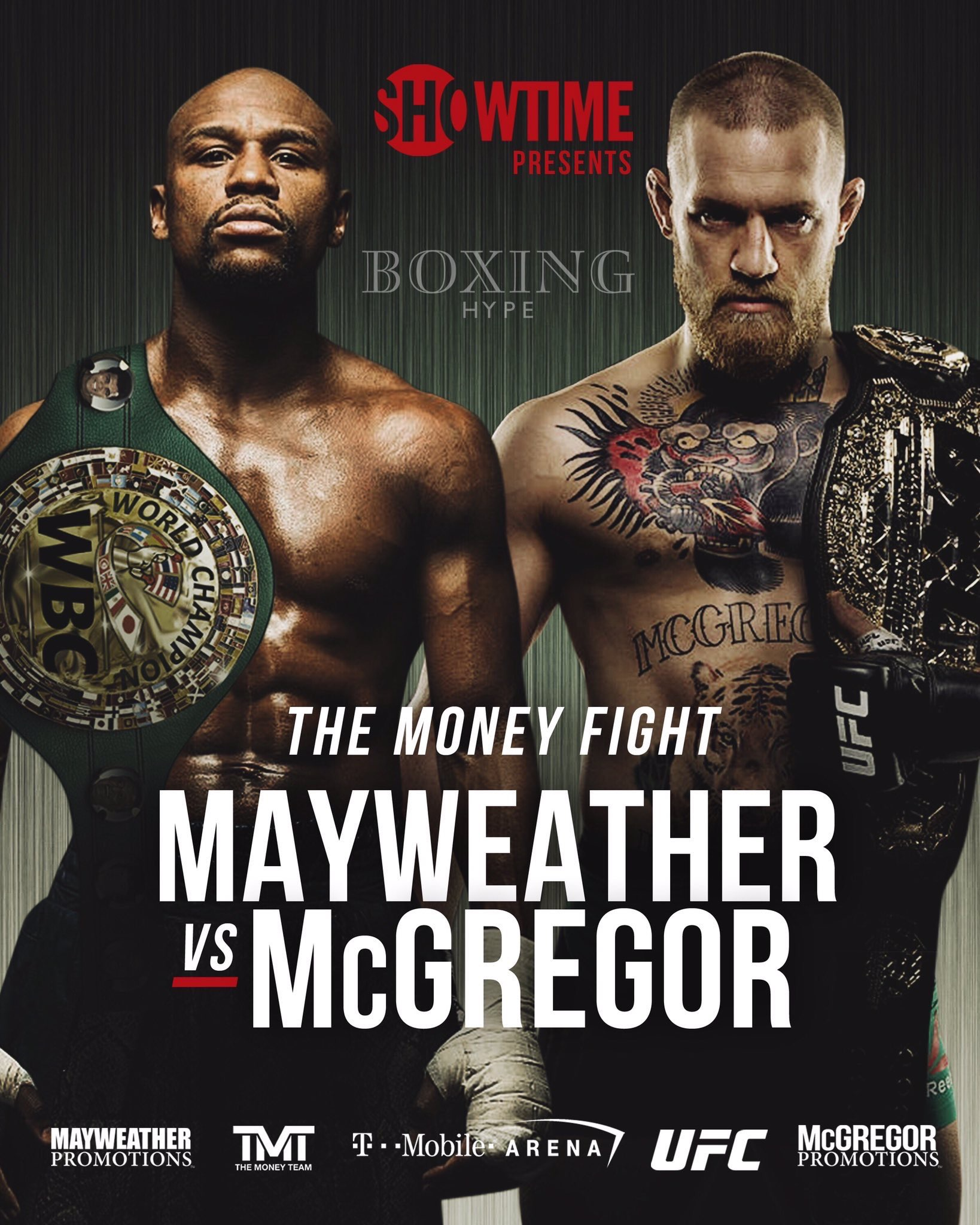 Mayweather Vs Mcgregor Oddschecker