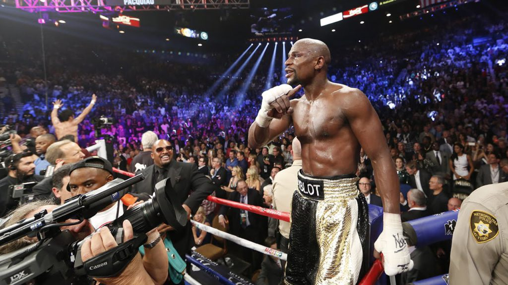 inside mayweather vs pacquiao 1024x576 - Floyd Mayweather Jr. vs Logan Paul Exhibition Match Reportedly Signed