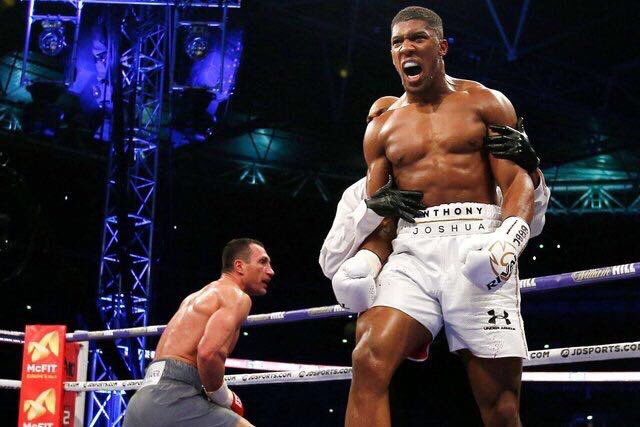 AJ V WK Pic 1 - The Hard Earned Education Of Anthony Joshua
