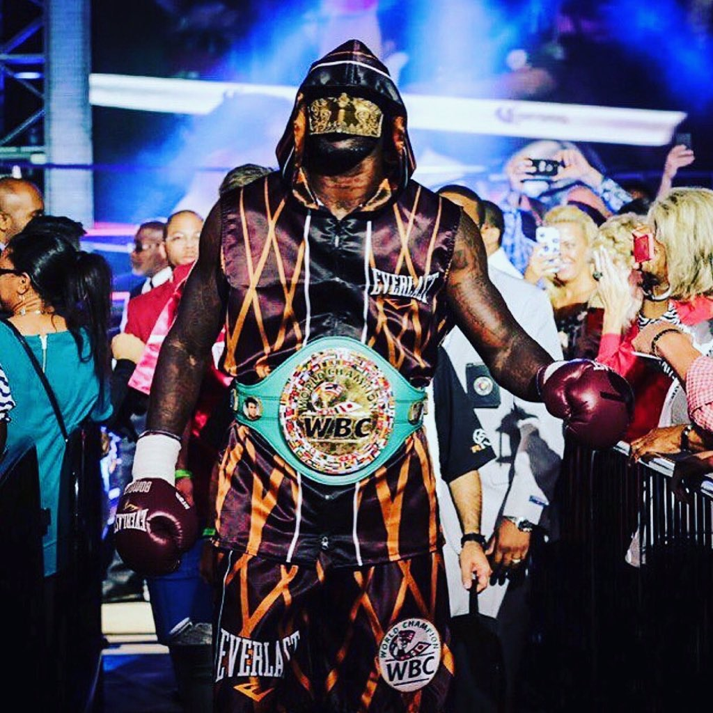 Undefeated WBC Champ Deontay Wilder To Face Cuban