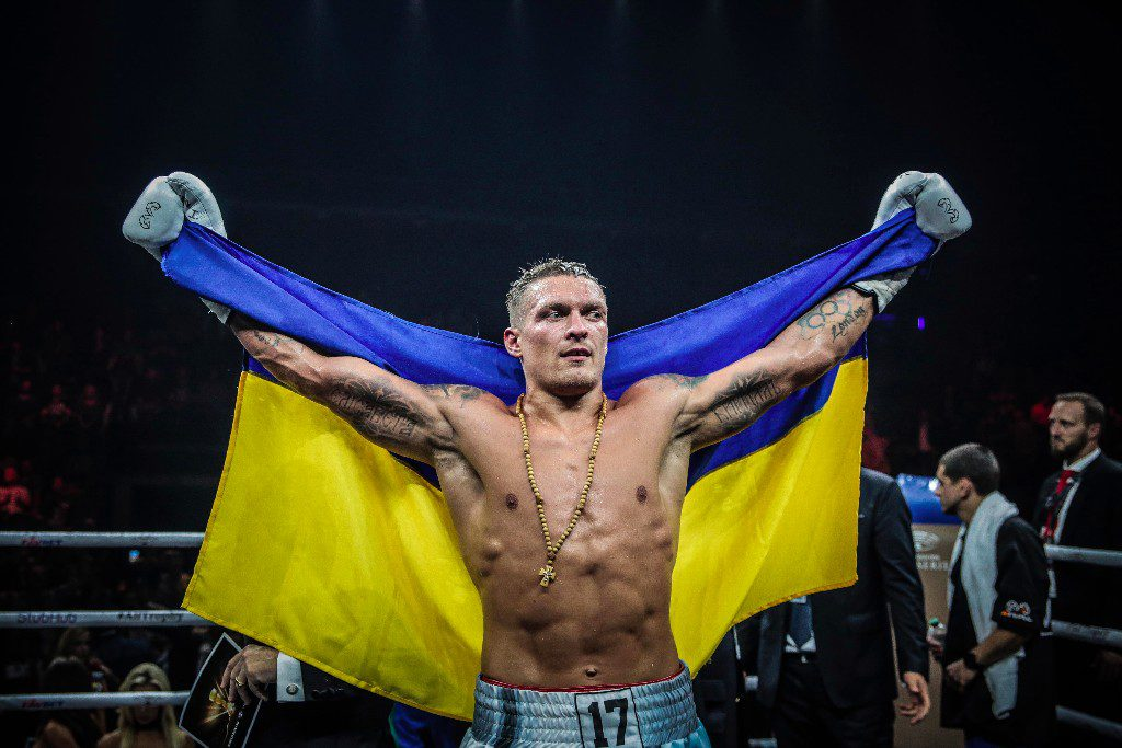 Usyk 1024x683 - Oleksandr Usyk vs Dereck Chisora: All Questions Will Be Answered October 31st