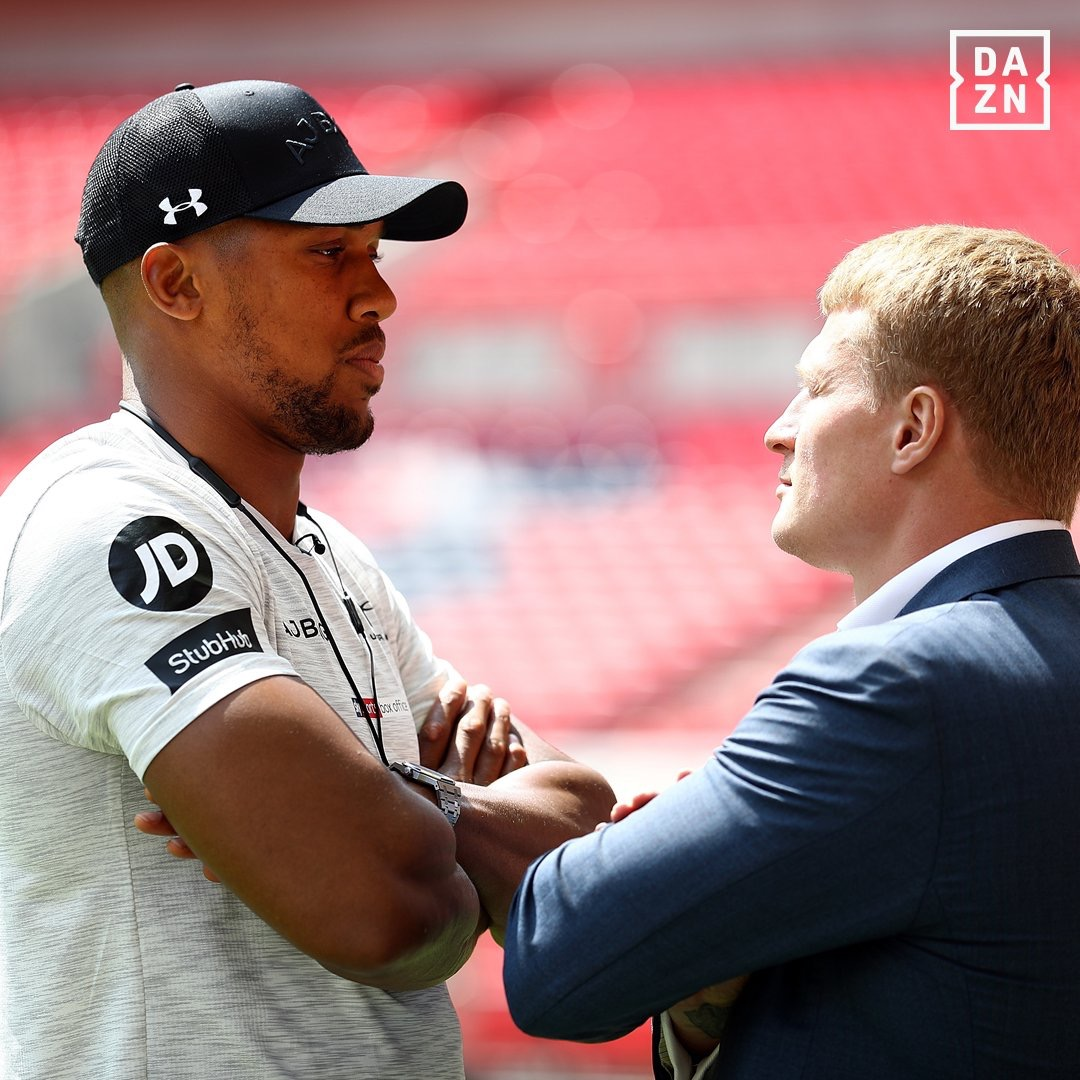 DAZN Ushering In A New Era With Joshua Vs. Povektin
