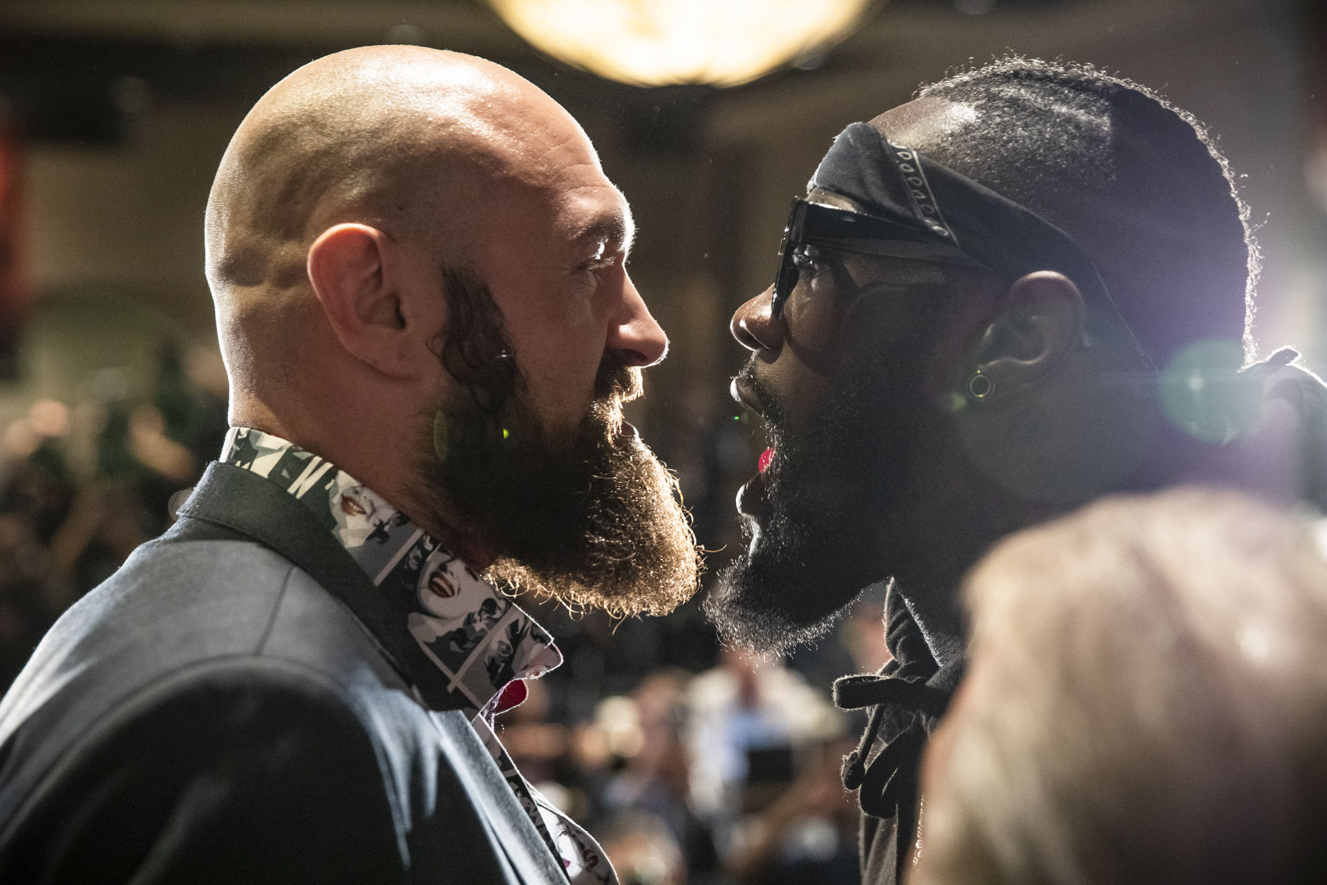 """013 Tyson Fury and Deontay Wilder - Deontay Wilder: """"Fury Did Not Want To Fight Me"""""""