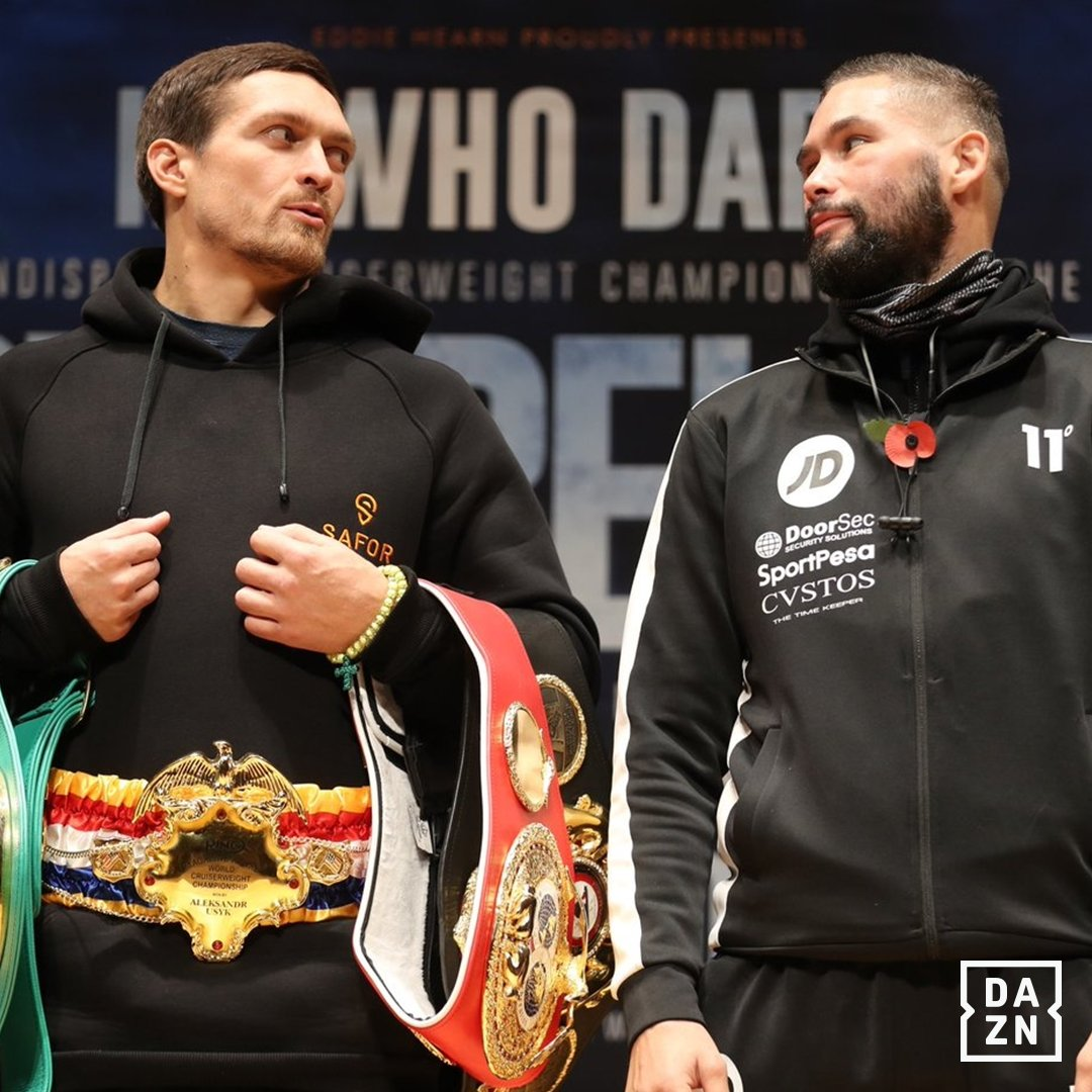 DAZN Boxing Preview: Usyk Vs. Bellew, Crolla Vs. Yordan
