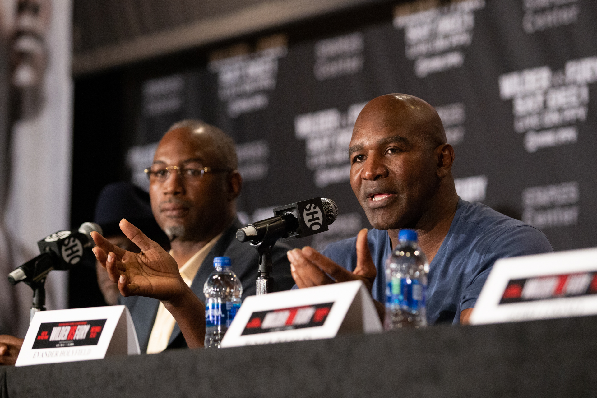 Evander Holyfield Set For Exhibition Against Kevin McBride As Co-Main Event To Teofimo Lopez vs George Kambosos Jr. On June 5th
