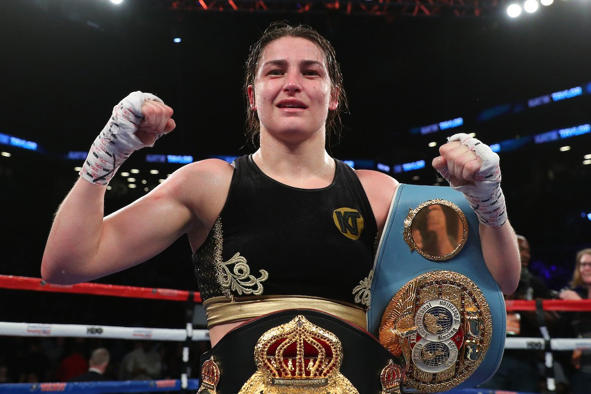"""Katie Taylor: """"I Feel Like I Have a Bit Of Unfinished Business"""""""
