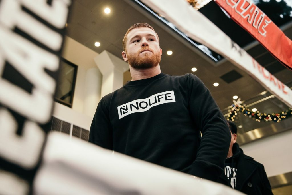 """canelo 1024x683 - Canelo Alvarez on Retirement: """"36, 37 Years Old at The Max"""""""