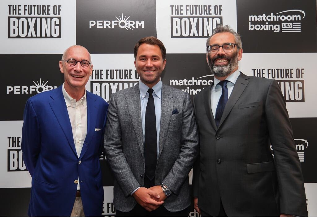 eddiehearn 1024x702 - Eddie Hearn is Turning His Backyard Into a Fight Arena to Host Fights