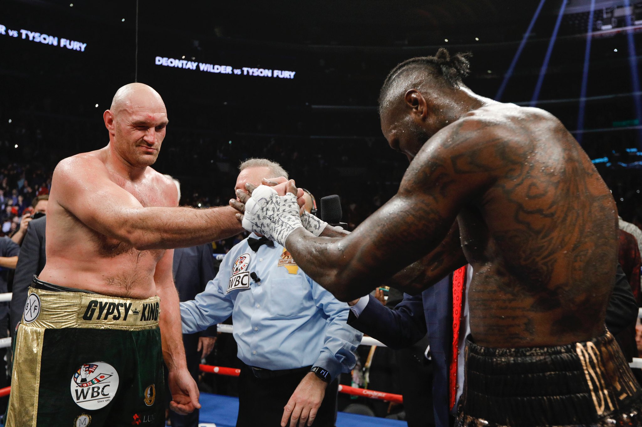 furywilder - Tyson Fury Claims Deontay Wilder Rematch Set For February