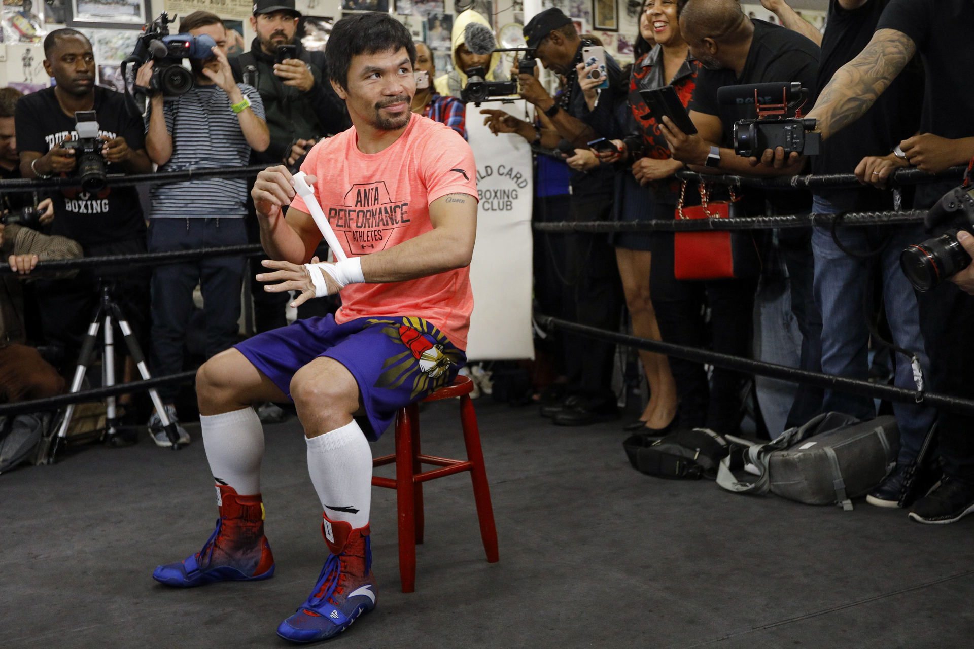 T-Mobile Arena Officially Set To Host Manny Pacquiao Vs. Errol Spence Jr.