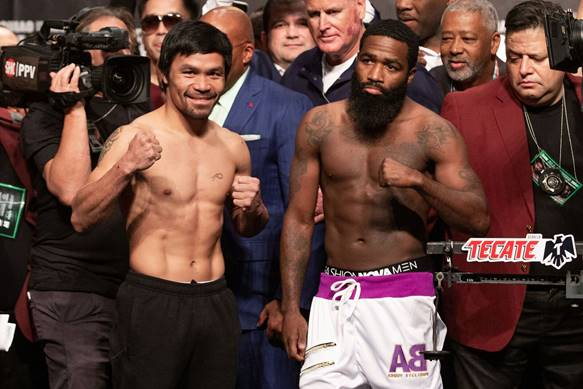 F0F7E804 D21D 4E84 B44F 32FCEDC53AD9 - Manny Pacquiao vs. Adrien Broner Final Weights and Quotes
