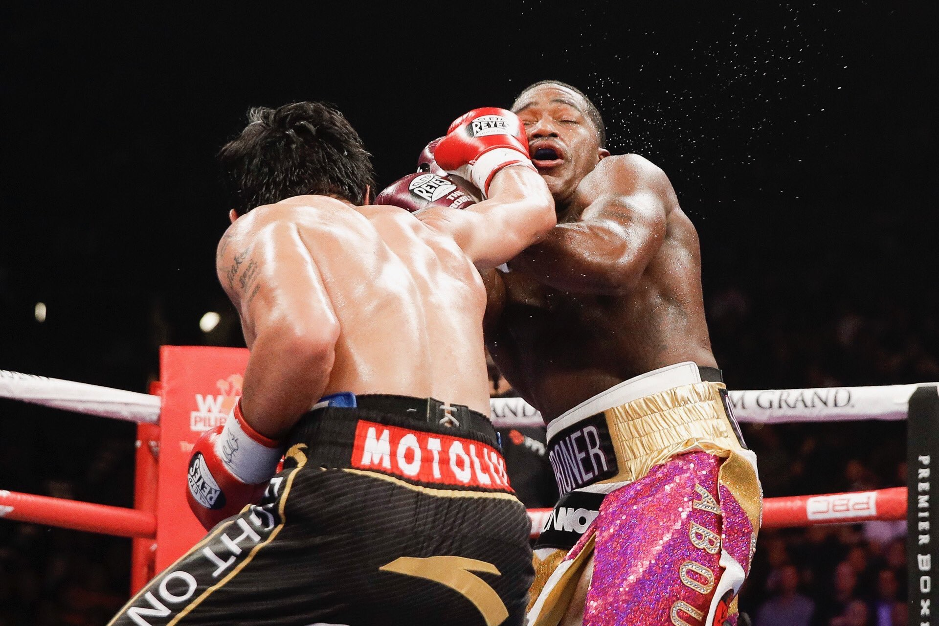 F20FB55A 5BF6 4B28 AE70 018E0175332F - Adrien Broner Engages In Vulgar, Accusatory Rant After Loss To Manny Pacquiao