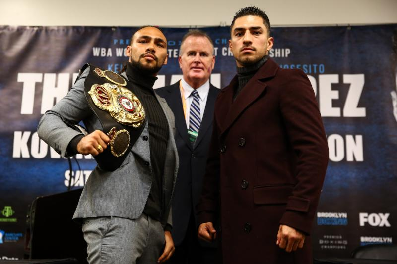 "Keith Thurman 1 - Thurman ""Focused On Getting Better And Much Stronger With Each Fight"""