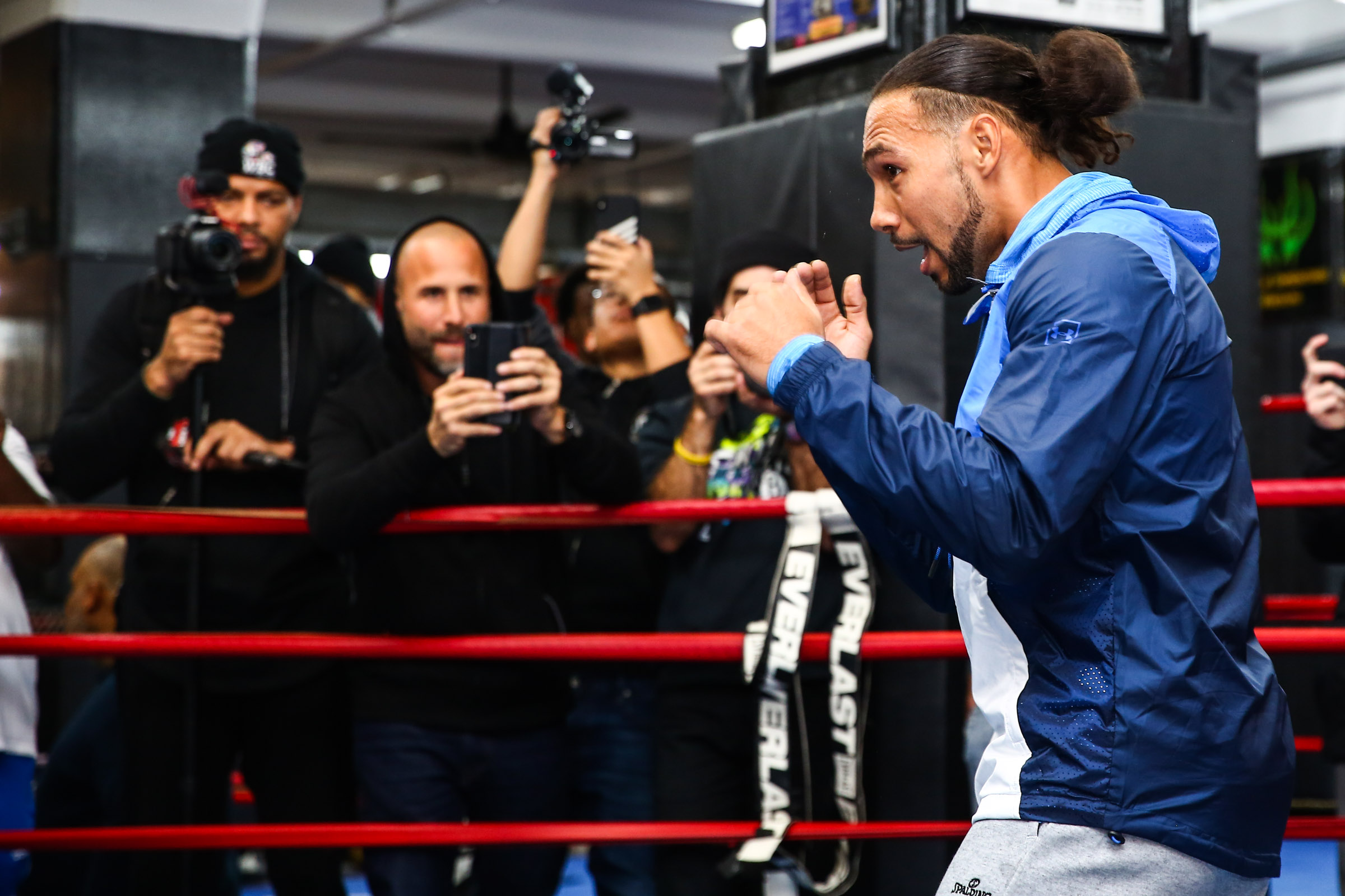 LR MEDIA WORKOUT KEITH THURMAN TRAPPFOTOS JANUARY232019 4966 - The Welterweight Picture, and Where Keith Thurman Fits Into It