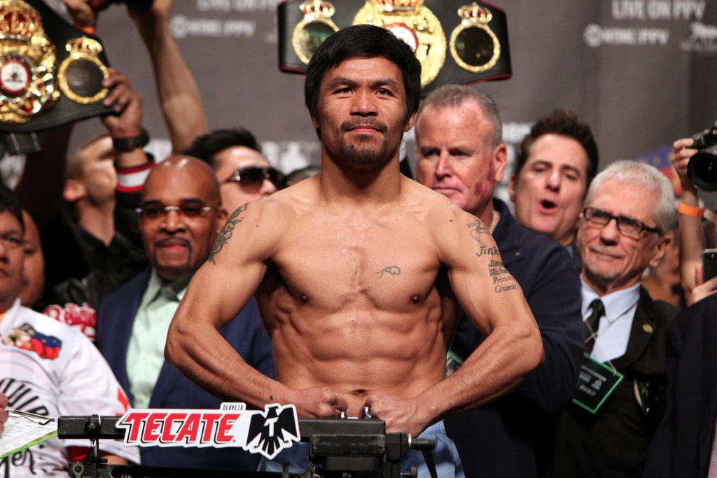 Pacquiao Broner weighin 190118 002 1024x683 - Pacquiao Teams With Paradigm