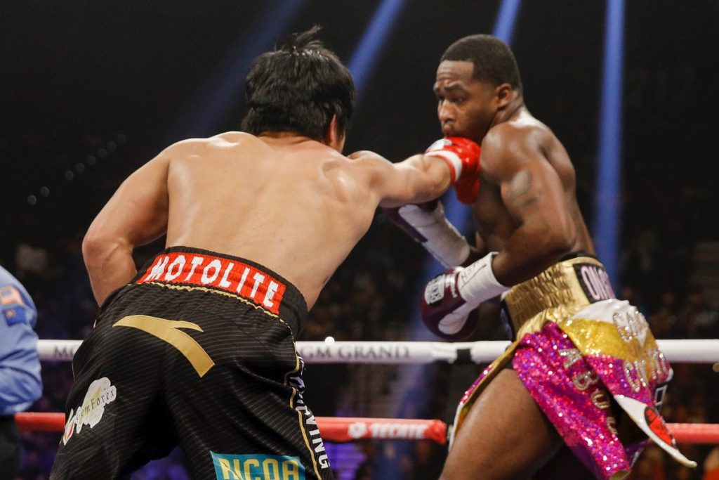 pacquiao broner 1024x683 - Showtime PPV Round by Round Results: Pacquiao Dominates Broner Over 12 Rounds