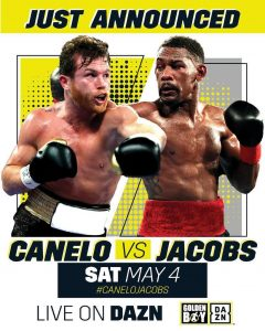 """thumbnail 240x300 - Canelo Alvarez to Face Daniel """"Miracle Man"""" Jacobs in Middleweight Unification Bout"""