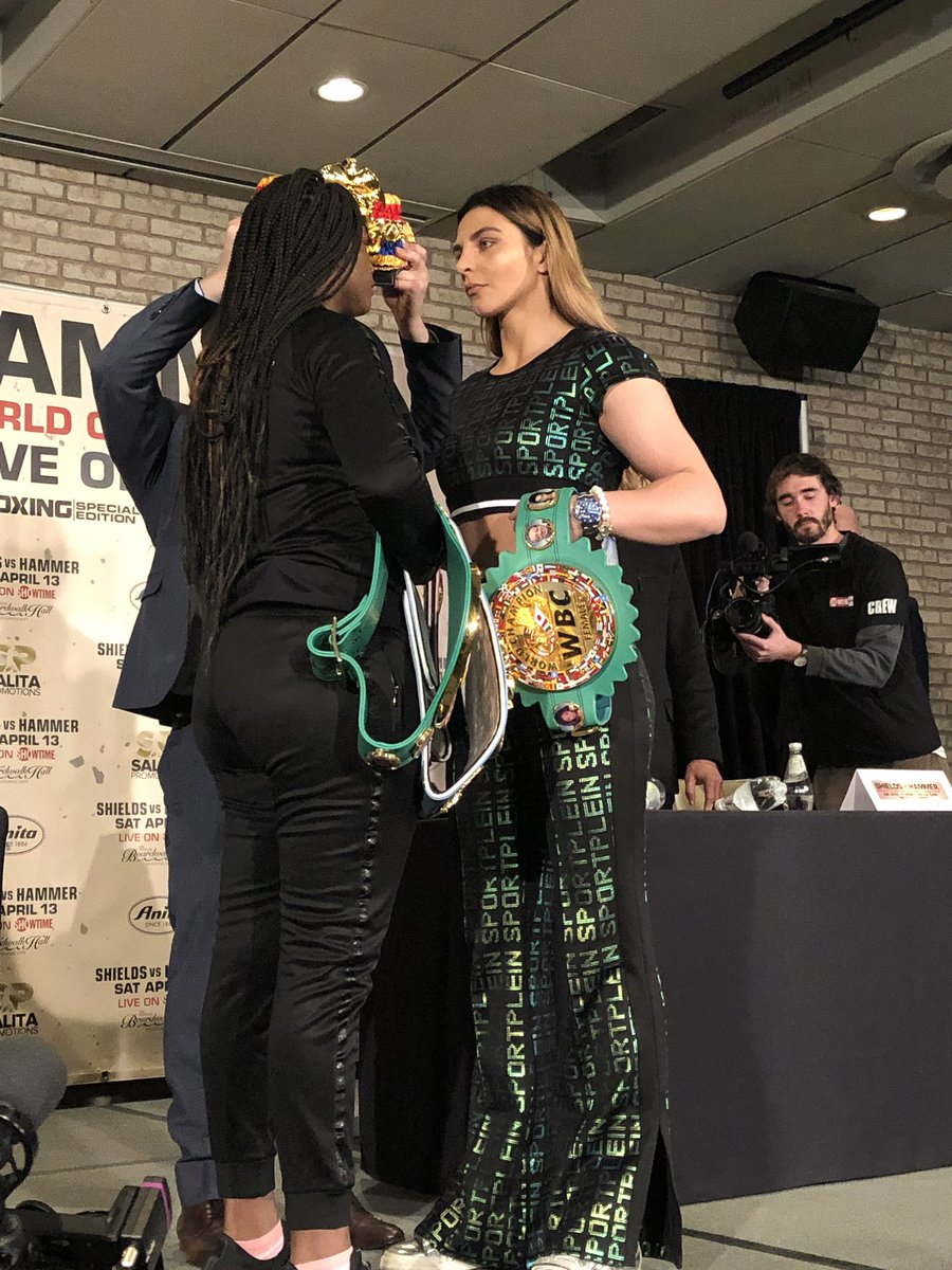 """shields hammer - Claressa Shields On Christina Hammer: """"I'm Going To Beat Her And Mess Her Up"""""""