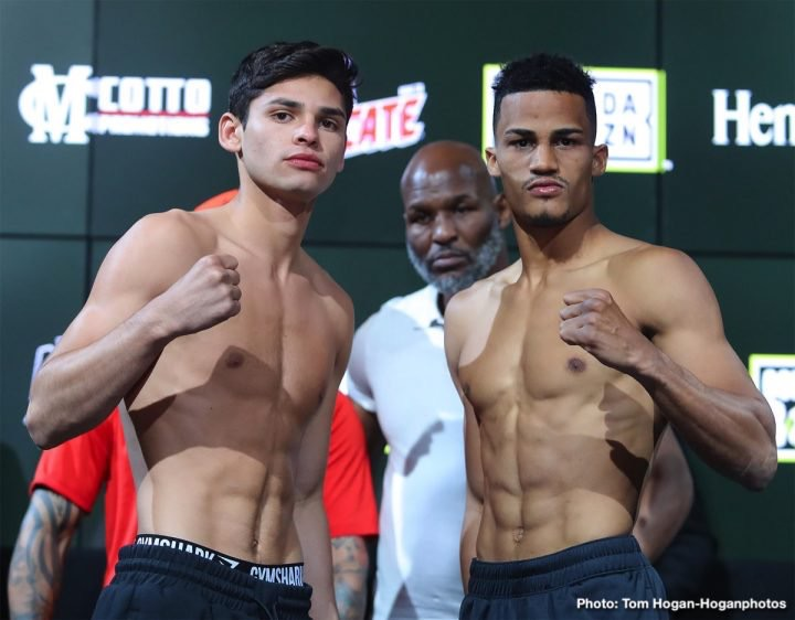 B9347552 139F 4295 899D 9913297A7ACF - DAZN Boxing Results: Garcia and Acosta Dominant in Victory