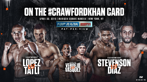 thumbnail - Boxing Insider Notebook: Crawford, Khan, Stevenson, Vazquez, Bivol, Smith, and more…