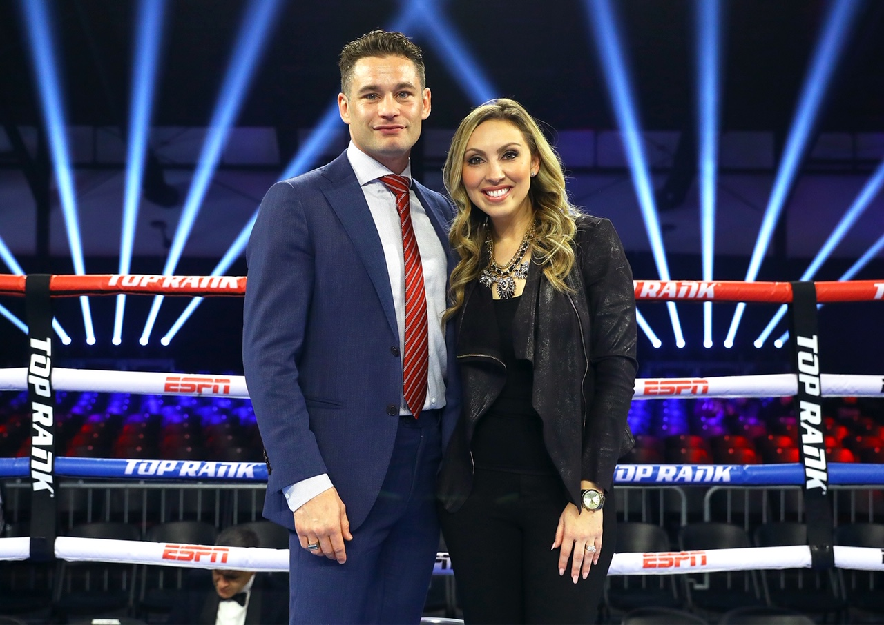 Chris Algieri  Crystina Poncher - Crystina Poncher: Hard Work Does Pay Off