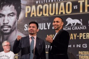 477EC3F2 A3AD 4B93 96AA A898F1E3D4E5 300x200 - Manny Pacquiao vs. Keith Thurman and Caleb Plant vs. Mike Lee Los Angeles Press Conference Quotes