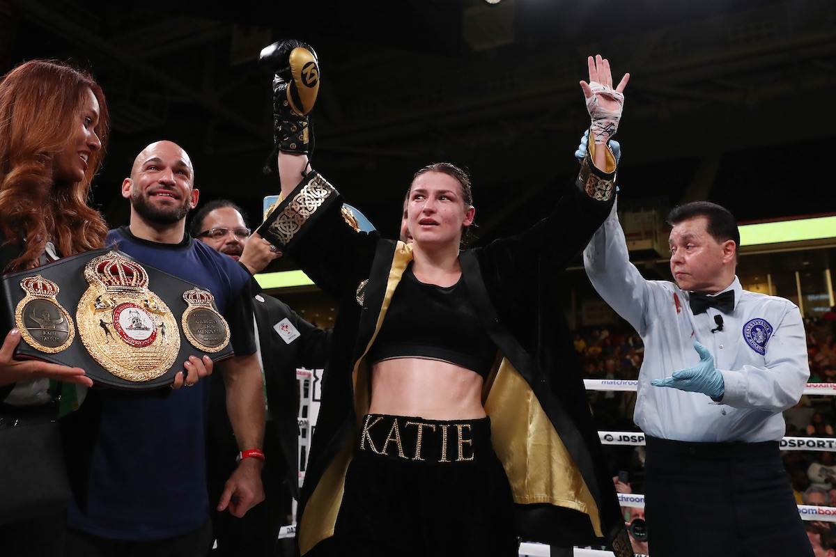 """Katie Taylor - Katie Taylor On Delfine Persoon: """"May The Best Girl Win"""""""