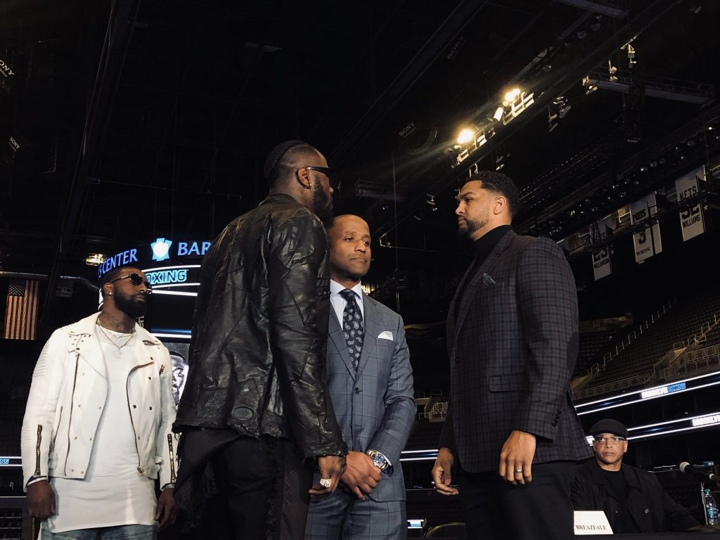 Wilder Breazeale 1 - Wilder's Pre-Fight Talk Rattles Some Observers