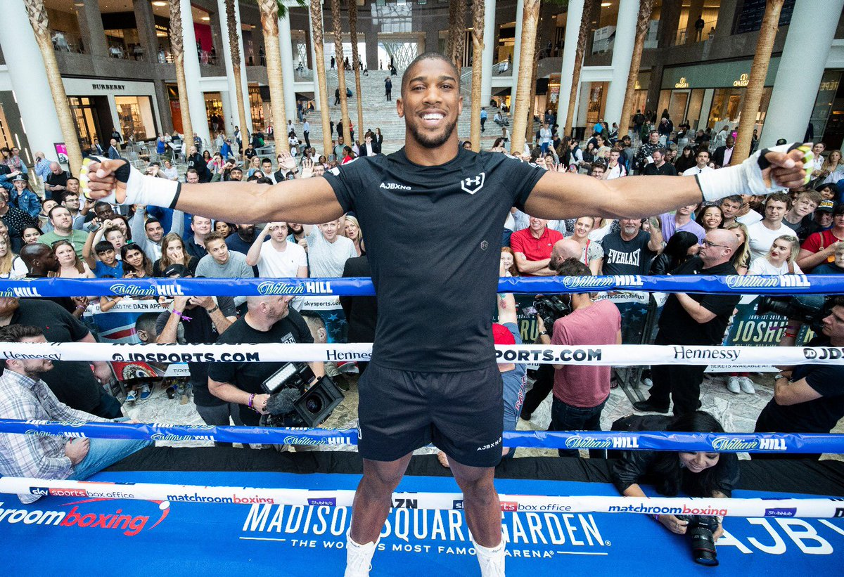 aj - Anthony Joshua: Keys to Victory