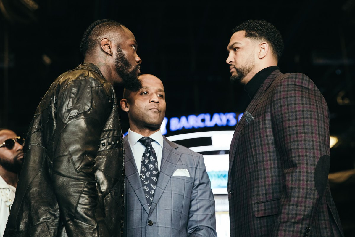 wilder - Showtime Boxing Preview: Wilder vs. Breazeale, Russell vs. Martinez