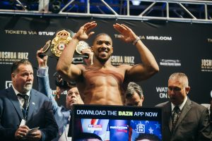 joshua ruiz weigh in 0010 300x200 - DAZN Needs Joshua to Score Big – In and Out of Ring