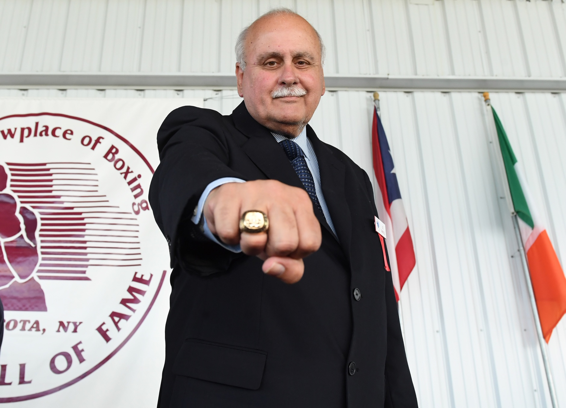 lee samuels - Top Rank Publicist Lee Samuels Inducted into the Boxing Hall of Fame