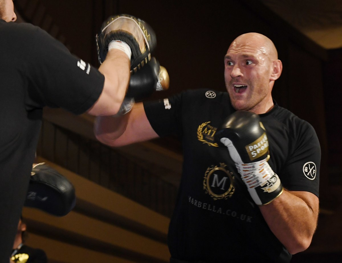 Tyson Fury is Training Hard to Live his WWE Dreams | BoxingInsider.com