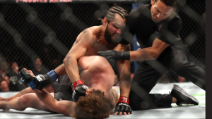 E95ADFB9 157F 424C 921A 9C587D846A0C 300x169 - Former Olympian Ben Askren Blasted at UFC 239 in Fastest KO in UFC History
