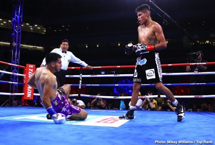B123C8AA BE47 4EFB A61D 9C813FA5CDF5 - Navarrete Makes Easy Work of De Vaca, Sets up Quick Turnaround for Fury Undercard